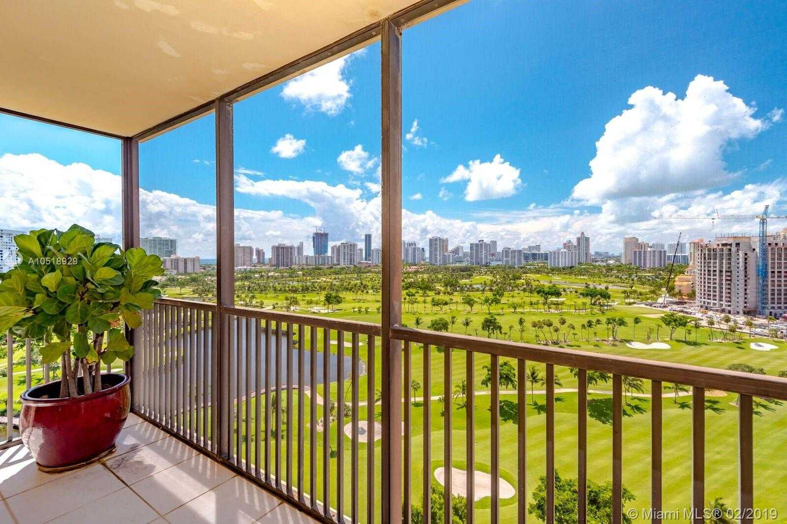$249,900 - 2Br/2Ba -  for Sale in Coronado Condo- Tower Ii, Aventura