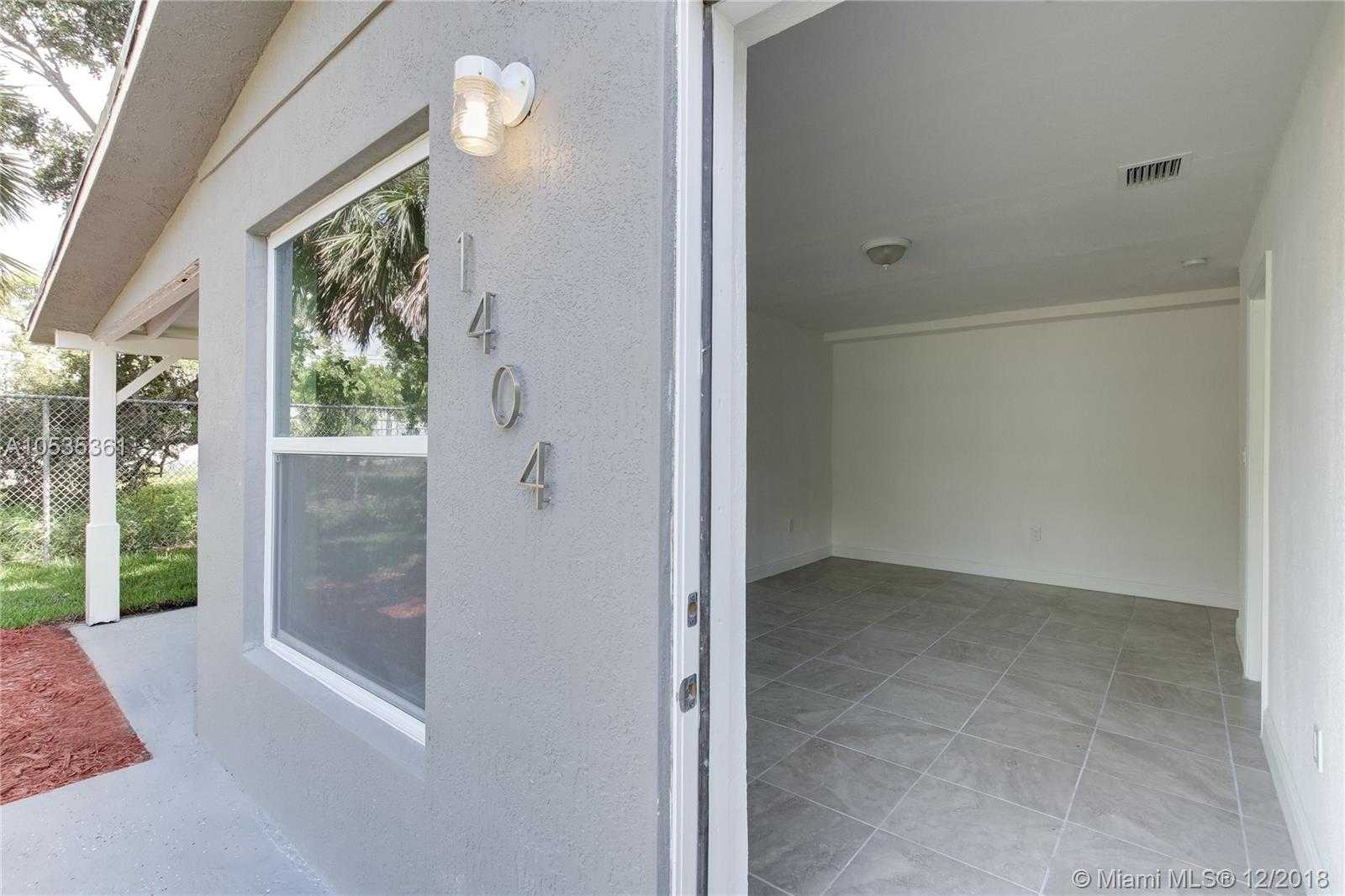 $319,999 - 3Br/2Ba -  for Sale in Edgewood, Fort Lauderdale