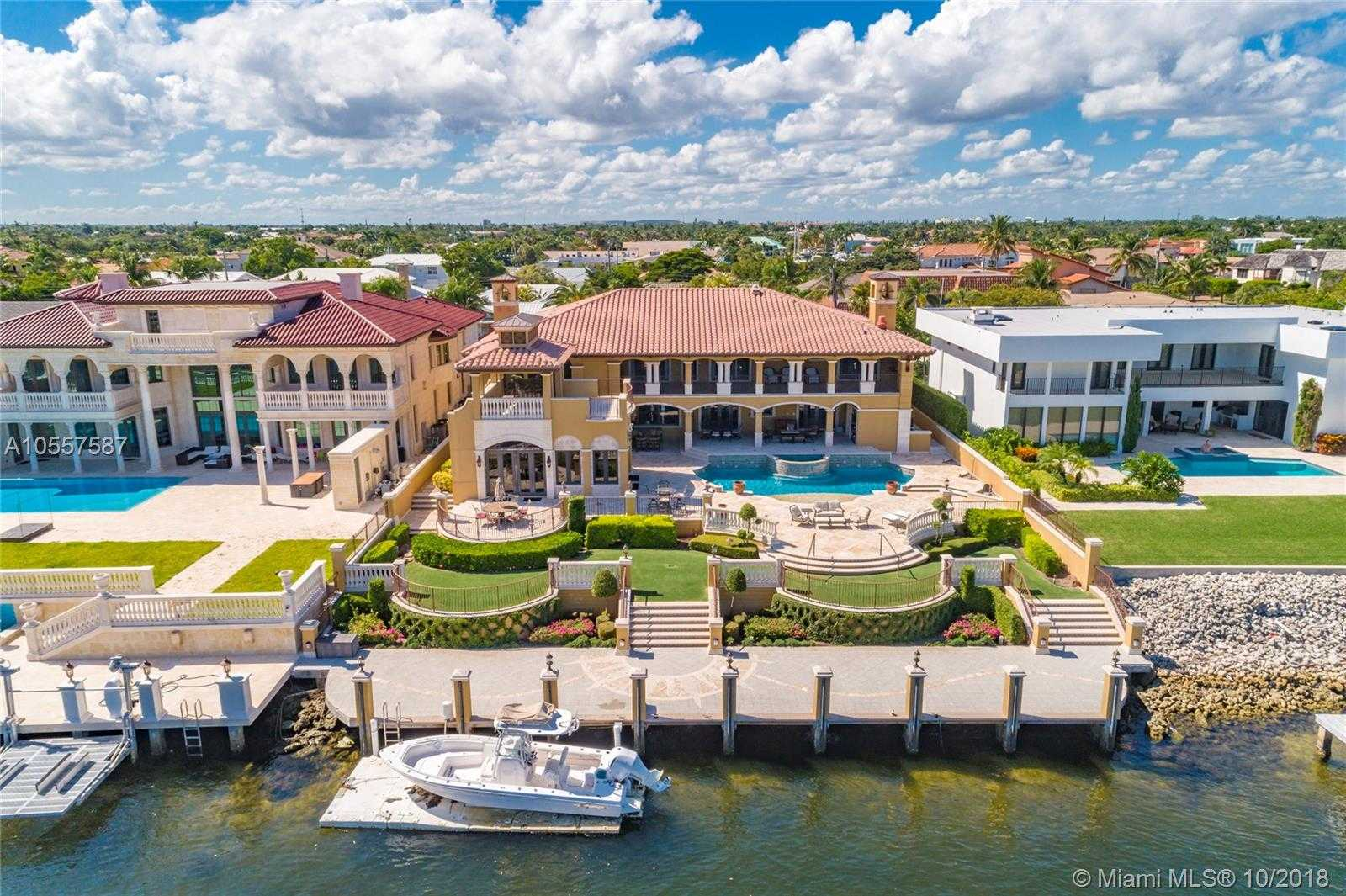 $4,950,000 - 6Br/8Ba -  for Sale in Venetian Isles 3rd Sec, Lighthouse Point