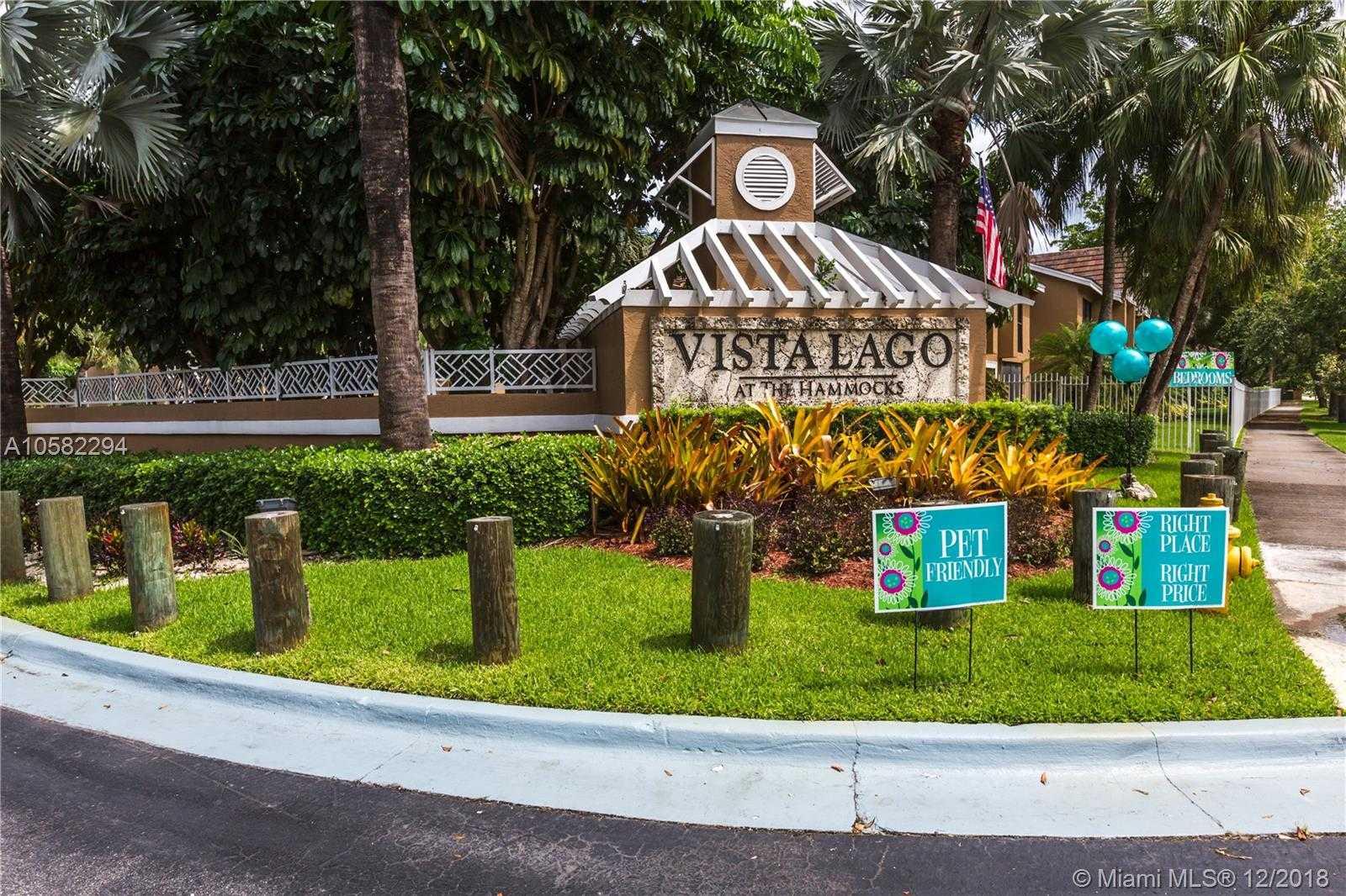 $210,000 - 2Br/2Ba -  for Sale in Vista Lago At The Hammock, Miami