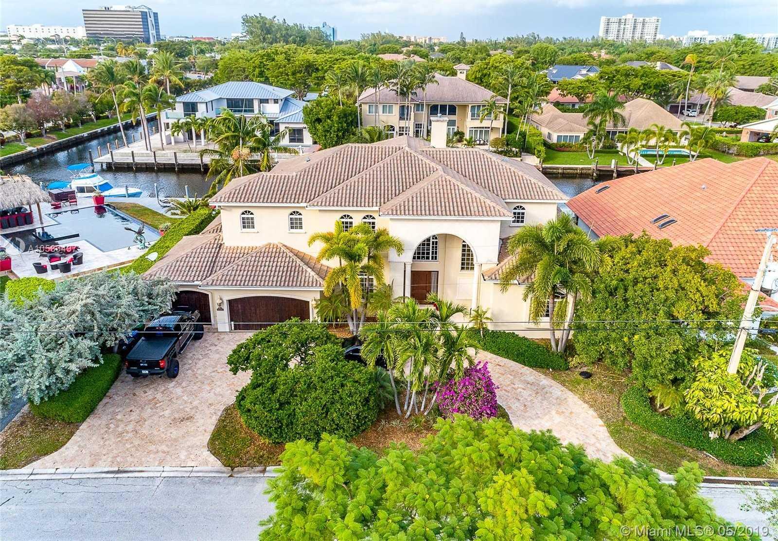 $2,890,000 - 6Br/6Ba -  for Sale in Landings Second Sec, Fort Lauderdale