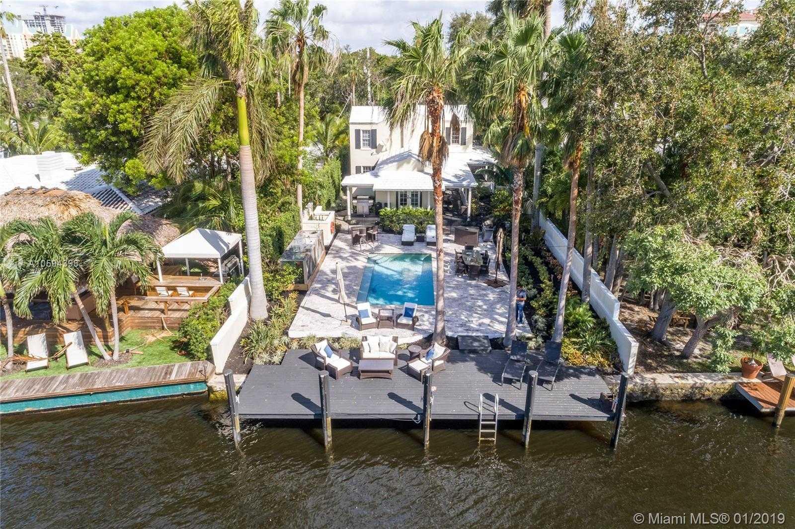 $2,395,000 - 4Br/4Ba -  for Sale in Colee Hammock, Fort Lauderdale