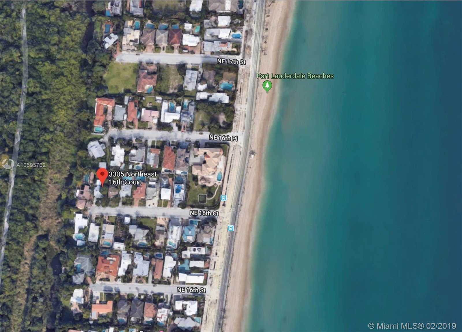 $1,200,000 - 3Br/2Ba -  for Sale in Las Olas By The Sea Ext, Fort Lauderdale