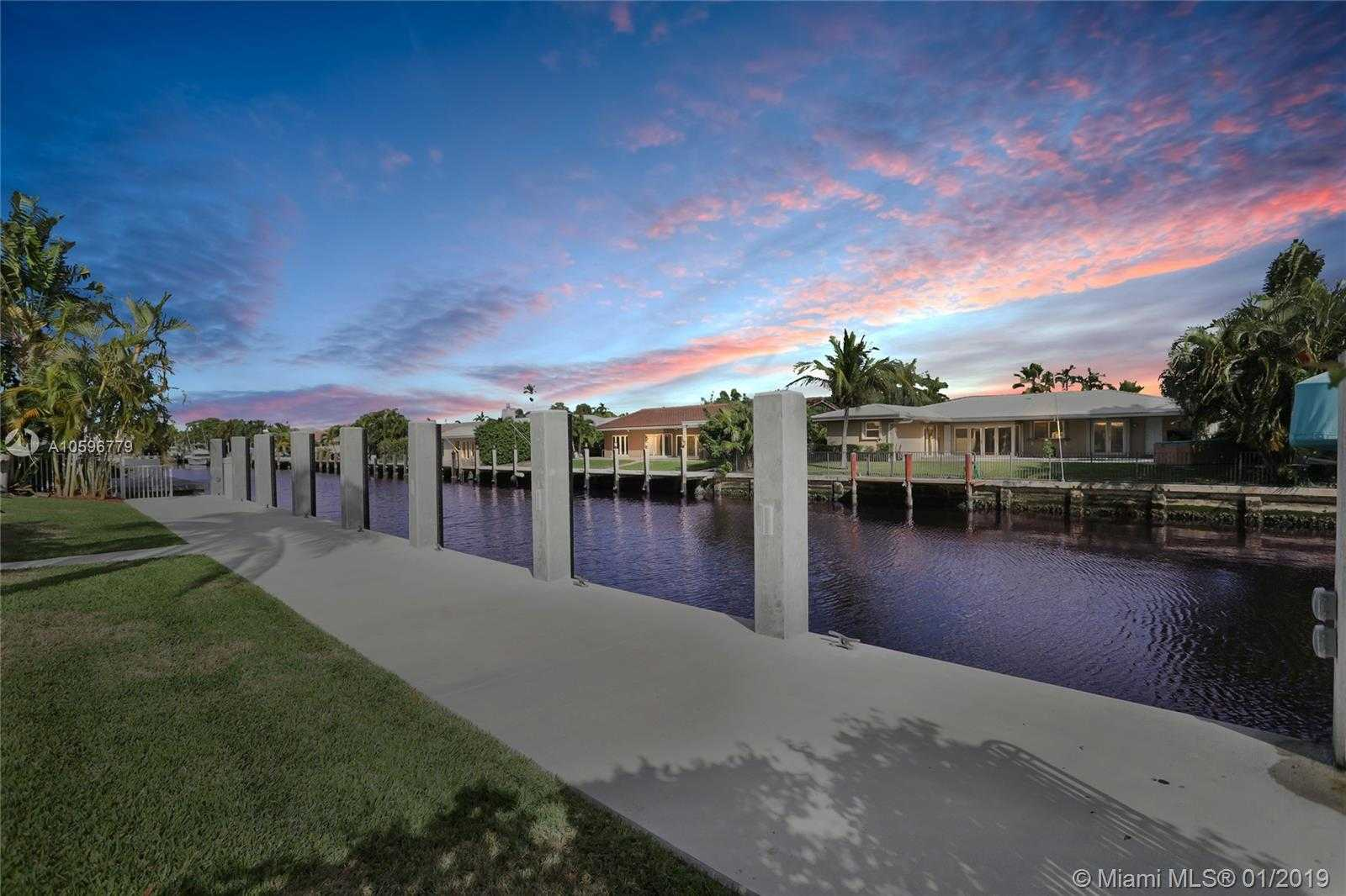 $1,385,000 - 3Br/2Ba -  for Sale in The Landings First Sec, Fort Lauderdale