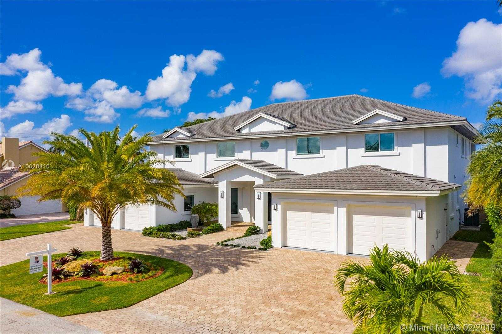 $3,695,000 - 6Br/8Ba -  for Sale in Coral Ridge Country Club, Fort Lauderdale