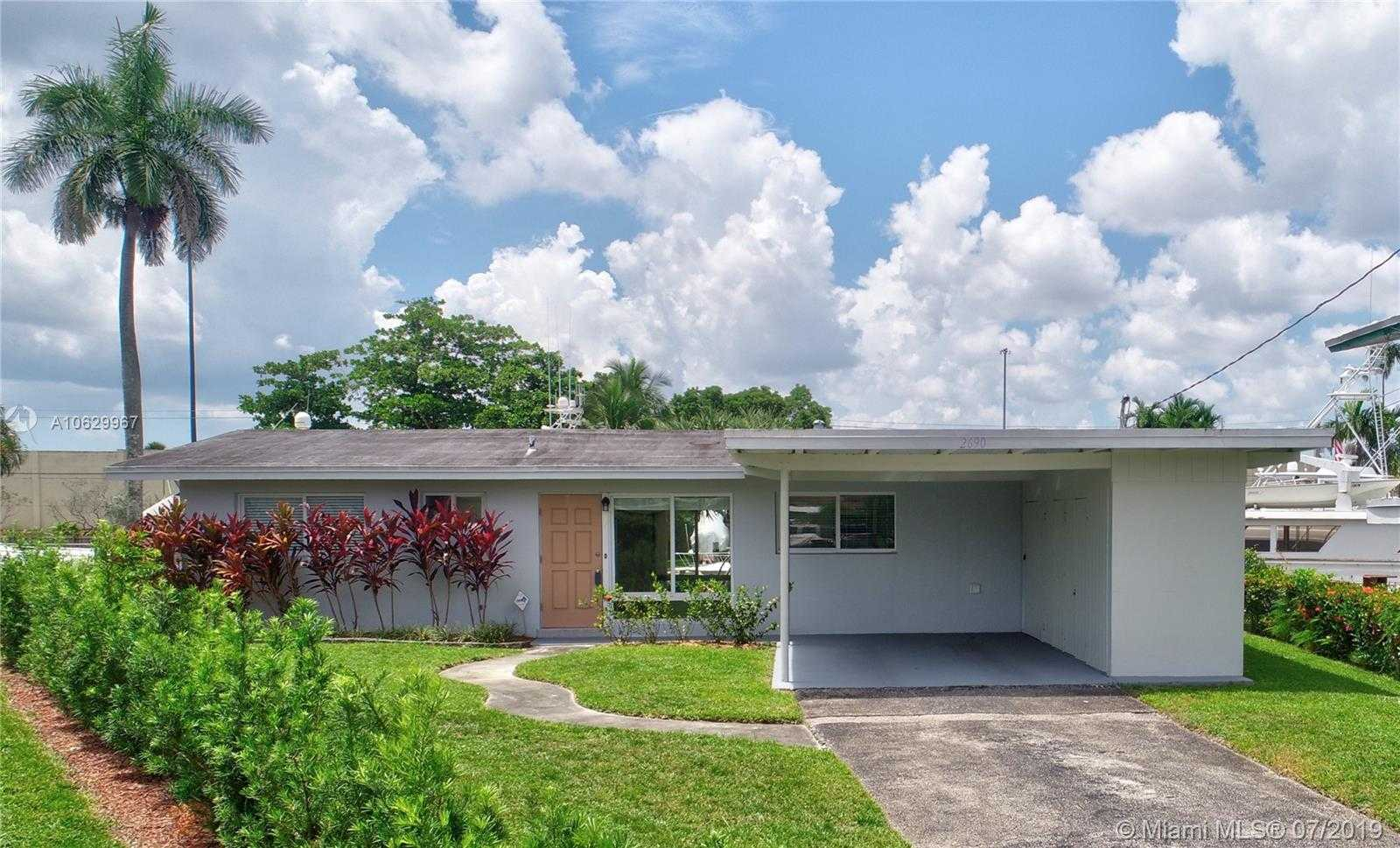 $629,000 - 3Br/2Ba -  for Sale in Lauderdale Isles No 2-res, Fort Lauderdale