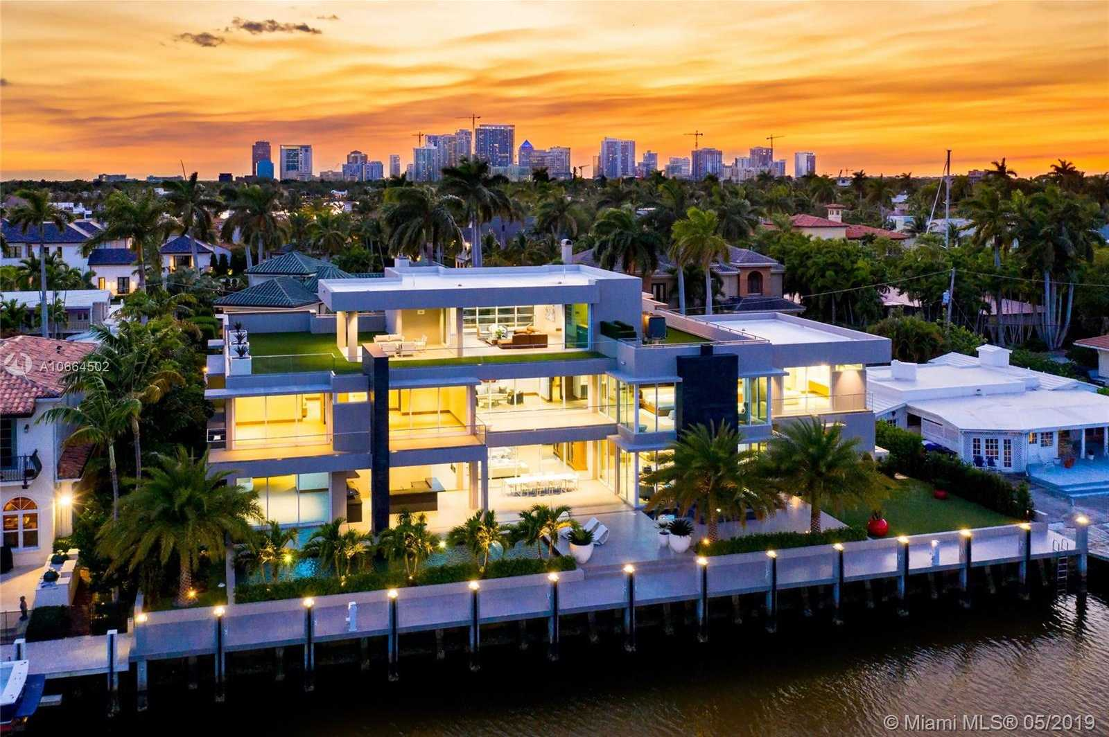 $11,500,000 - 7Br/10Ba -  for Sale in Stilwell Isles, Fort Lauderdale