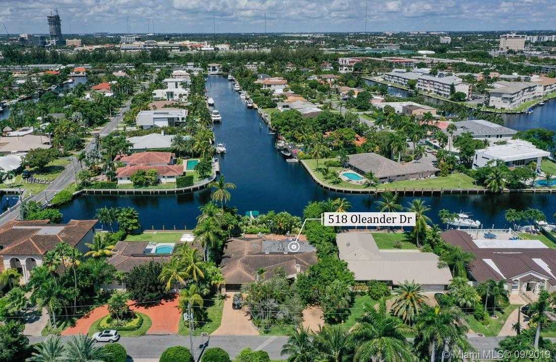 $1,570,000 - 4Br/3Ba -  for Sale in Golden Isles Sec A, Hallandale