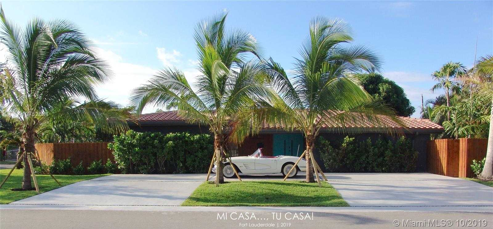 $1,100,000 - 3Br/3Ba -  for Sale in River Ridge, Fort Lauderdale