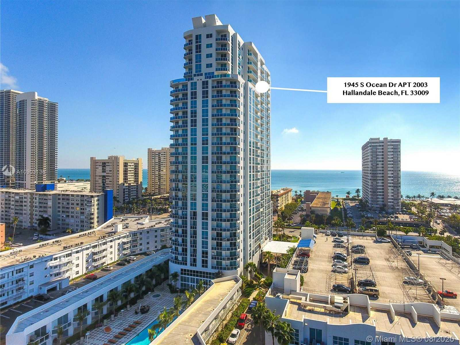 $530,000 - 2Br/3Ba -  for Sale in Ocean Marine Yacht Club, Hallandale Beach