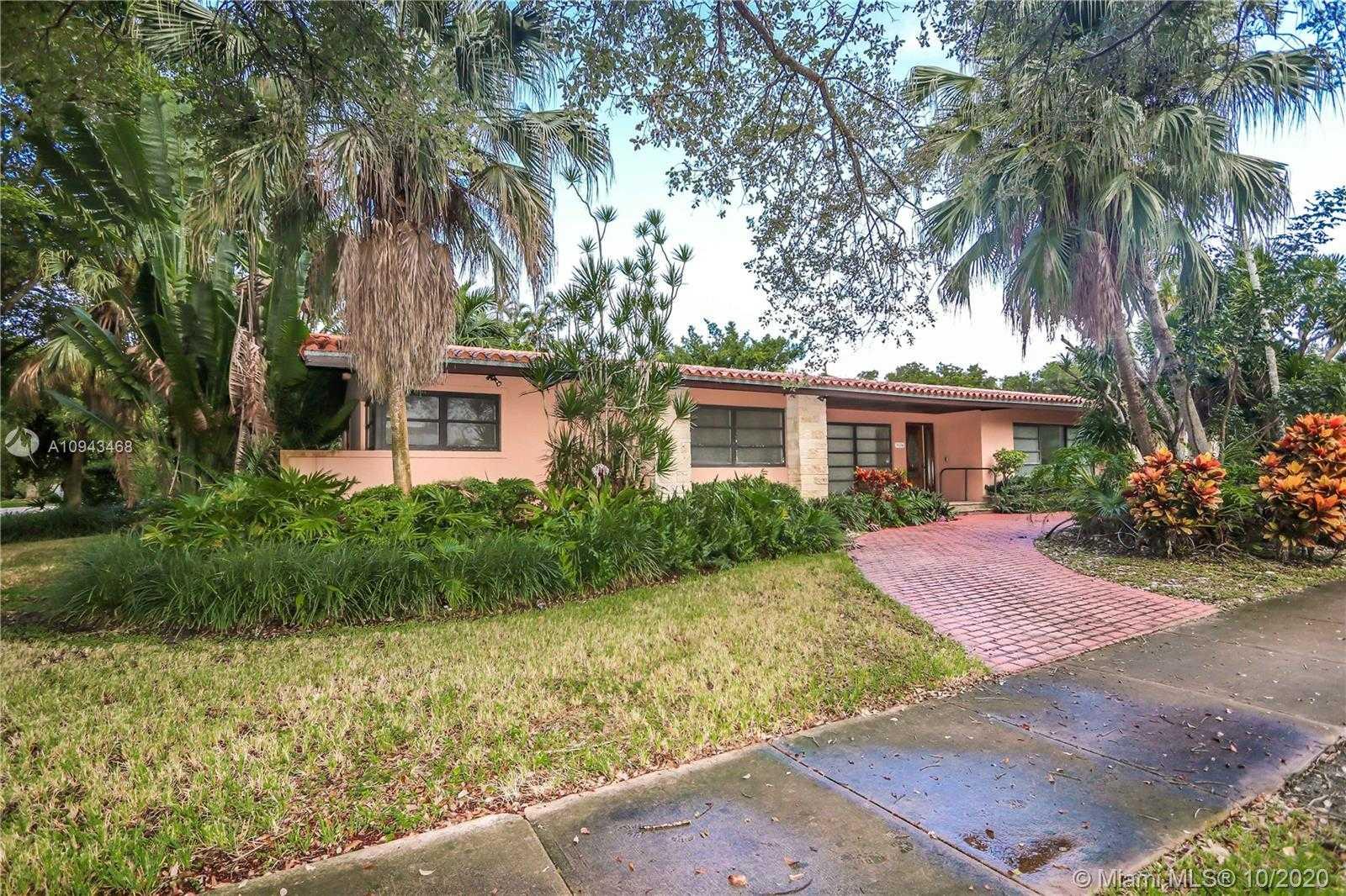 $1,600,000 - 3Br/2Ba -  for Sale in C Gab Riviera Sec 10, Coral Gables