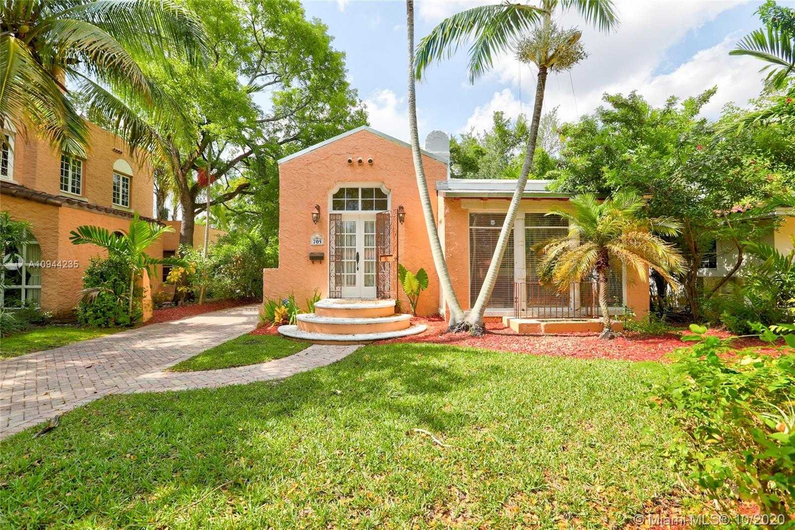 $639,888 - 2Br/1Ba -  for Sale in Coral Gables Sec B, Coral Gables