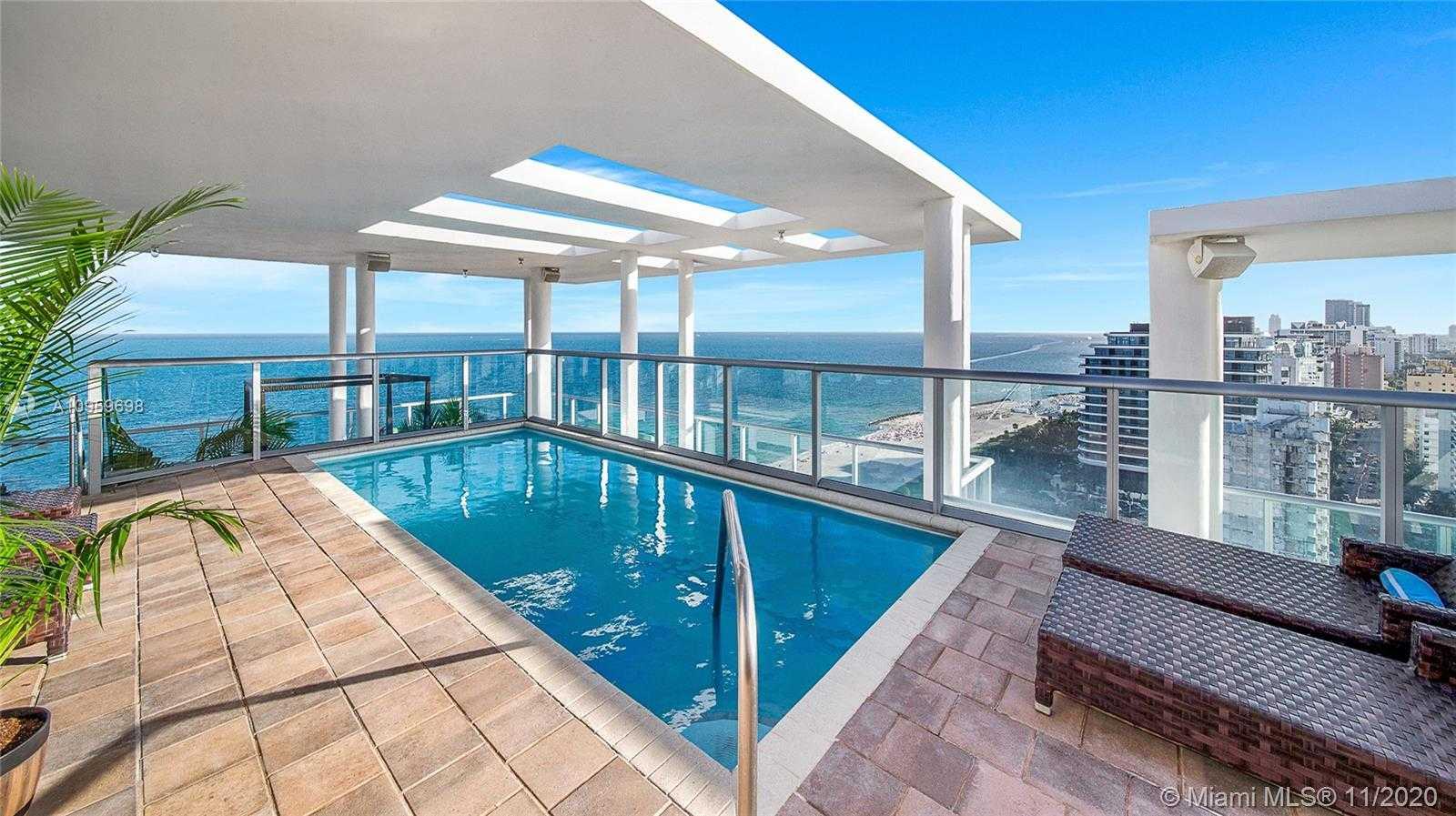 $14,900,000 - 4Br/5Ba -  for Sale in The Caribbean Condo, Miami Beach