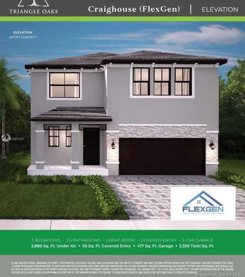 $564,900 - 5Br/8Ba -  for Sale in Triangle Oaks, Miami