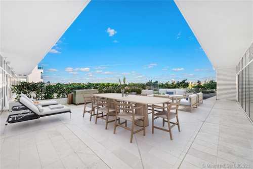 $5,875,000 - 4Br/5Ba -  for Sale in 4701 North Meridian Condo, Miami Beach