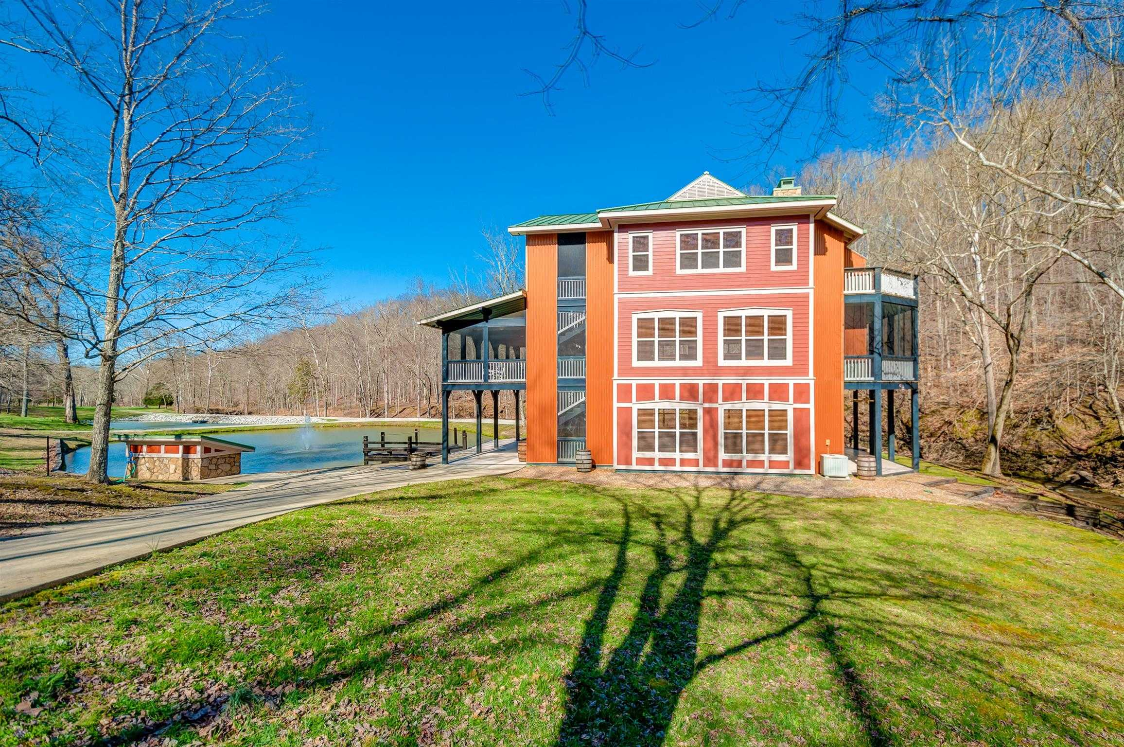 $1,820,000 - 2Br/3Ba -  for Sale in 133 Ac W/ Unique Home, Franklin