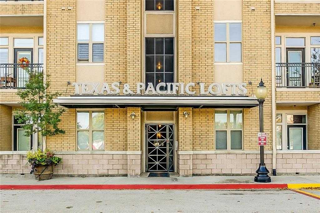 $238,500 - 2Br/2Ba -  for Sale in Texas & Pacific Lofts Condo, Fort Worth