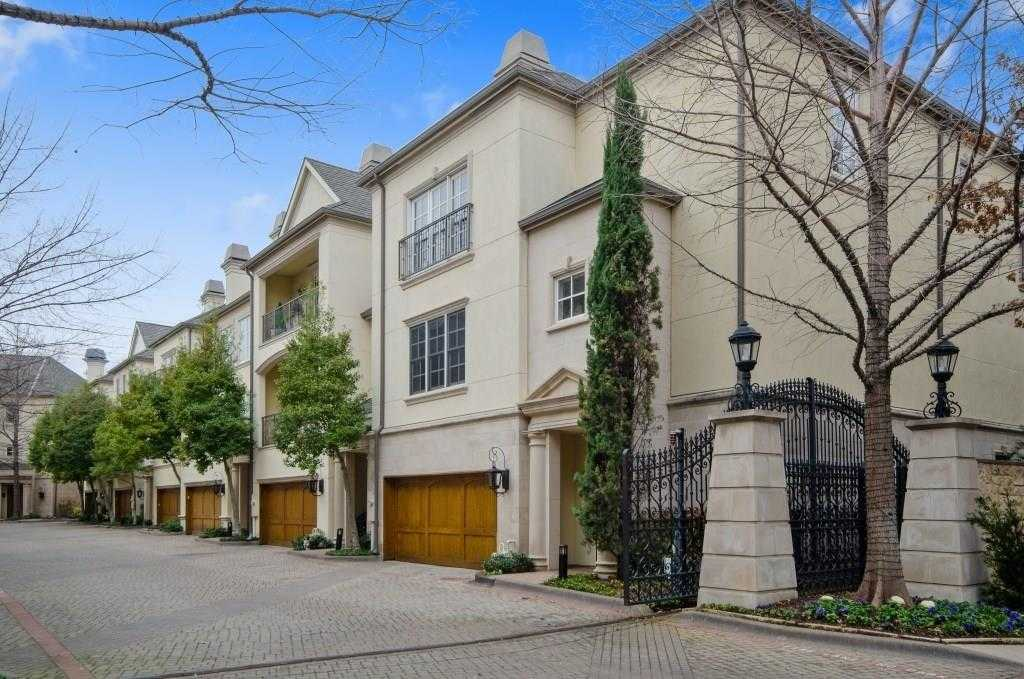 $1,500,000 - 3Br/4Ba -  for Sale in Cascada At Turtle Creek, Dallas