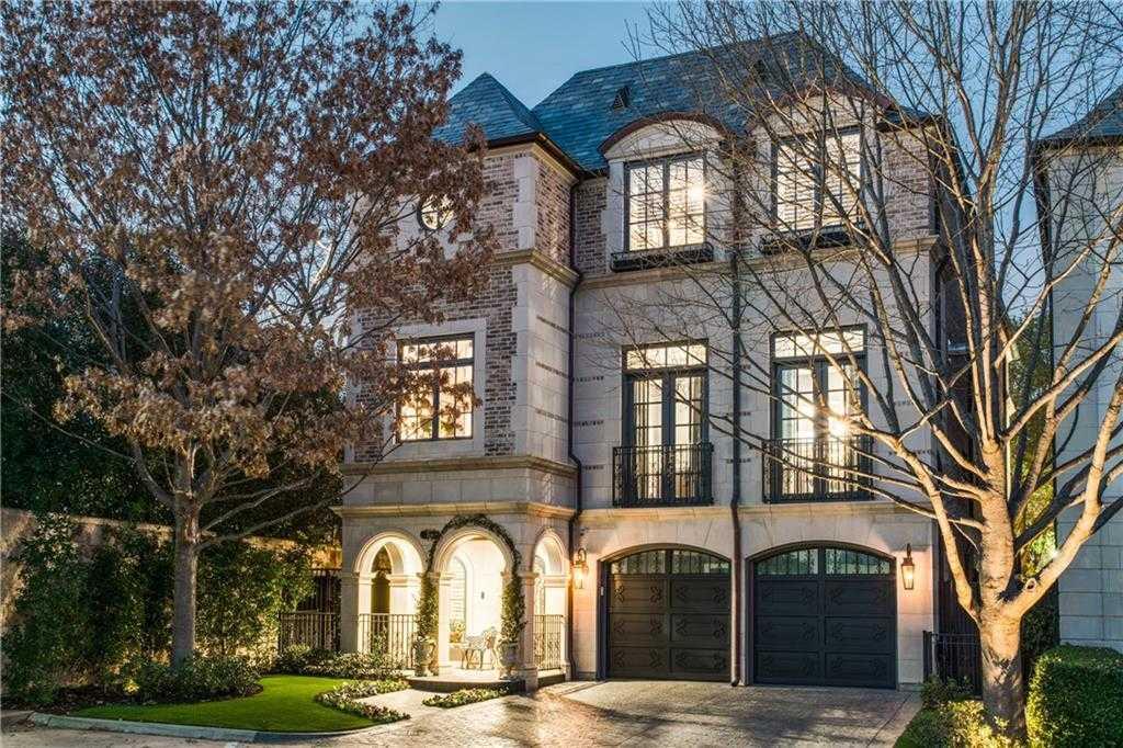 $4,495,000 - 3Br/6Ba -  for Sale in Place Des Vosges, Dallas