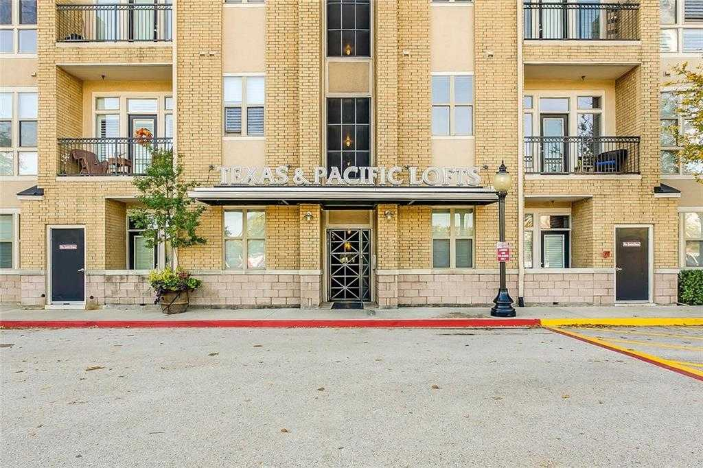 $234,000 - 2Br/2Ba -  for Sale in Texas & Pacific Lofts Condo, Fort Worth