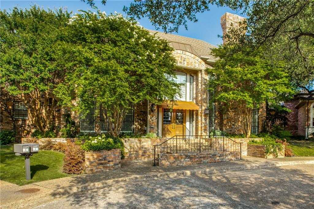 $995,000 - 4Br/6Ba -  for Sale in Glen Lakes 5th Sedtion, Dallas