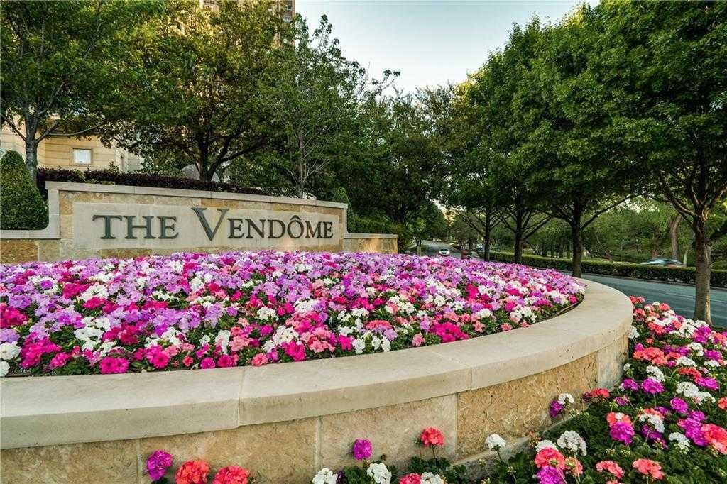 $1,275,000 - 2Br/3Ba -  for Sale in Vendome On Turtle Creek Condo, Dallas