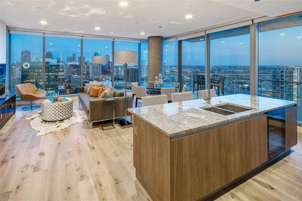 $2,300,000 - 3Br/4Ba -  for Sale in Bleu Ciel Condo, Dallas