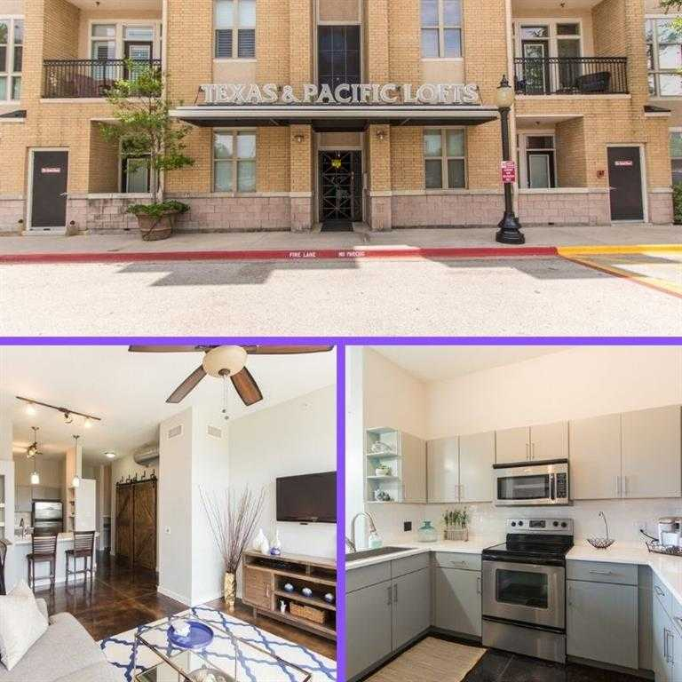 $219,000 - 1Br/1Ba -  for Sale in Texas & Pacific Lofts Condo, Fort Worth