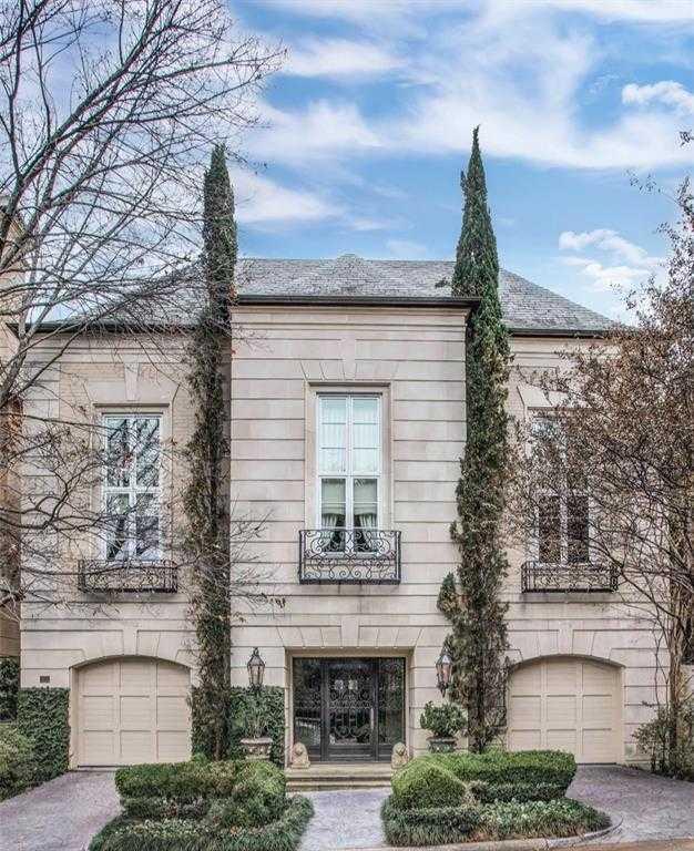 $3,295,000 - 3Br/4Ba -  for Sale in Place Des Vosges, Dallas