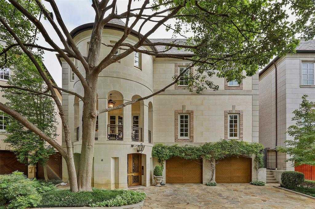 $3,050,000 - 3Br/6Ba -  for Sale in Place Des Vosges, Dallas