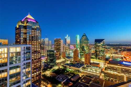 $5,750,000 - 3Br/4Ba -  for Sale in Museum Tower Condo, Dallas