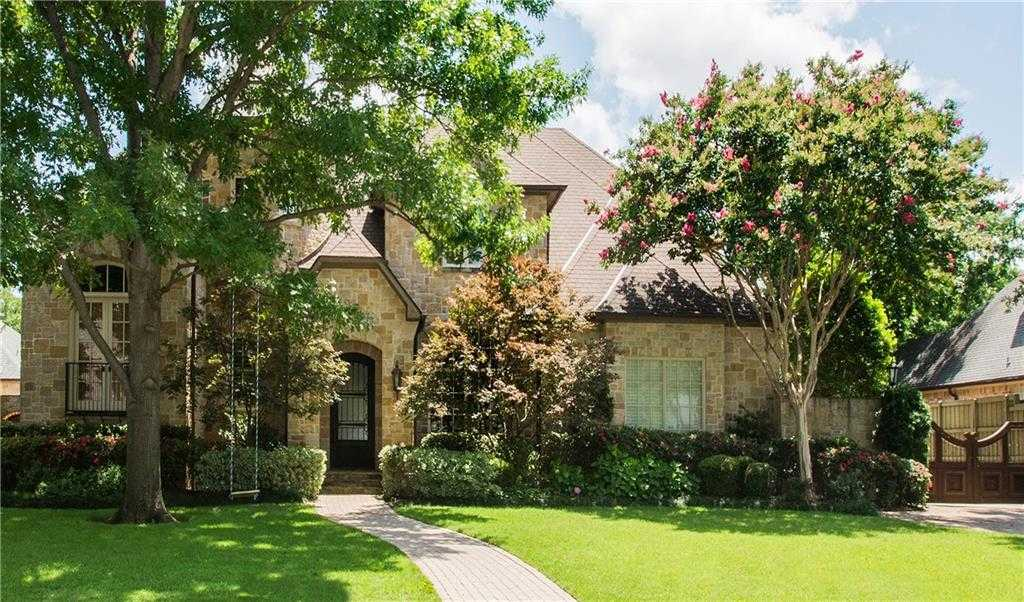 $2,199,000 - 5Br/8Ba -  for Sale in Waggoner Place Add, Dallas