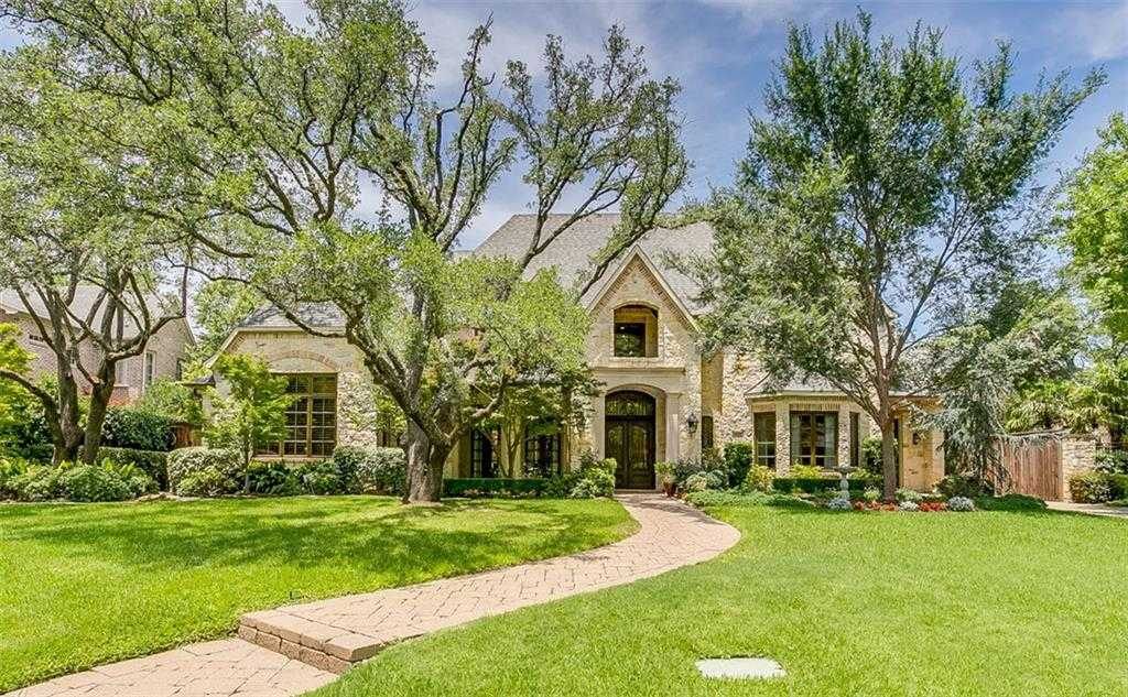 $1,879,000 - 5Br/7Ba -  for Sale in Waggoner Place, Dallas