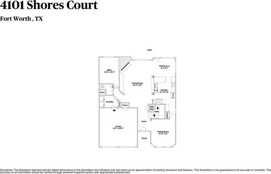 $306,000 - 4Br/3Ba -  for Sale in Hills At Fossil Creek Add, Fort Worth