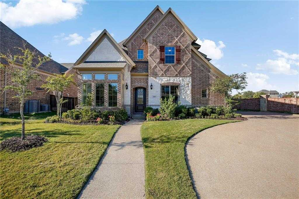 $489,500 - 5Br/4Ba -  for Sale in Waterford Park Mansfield, Mansfield