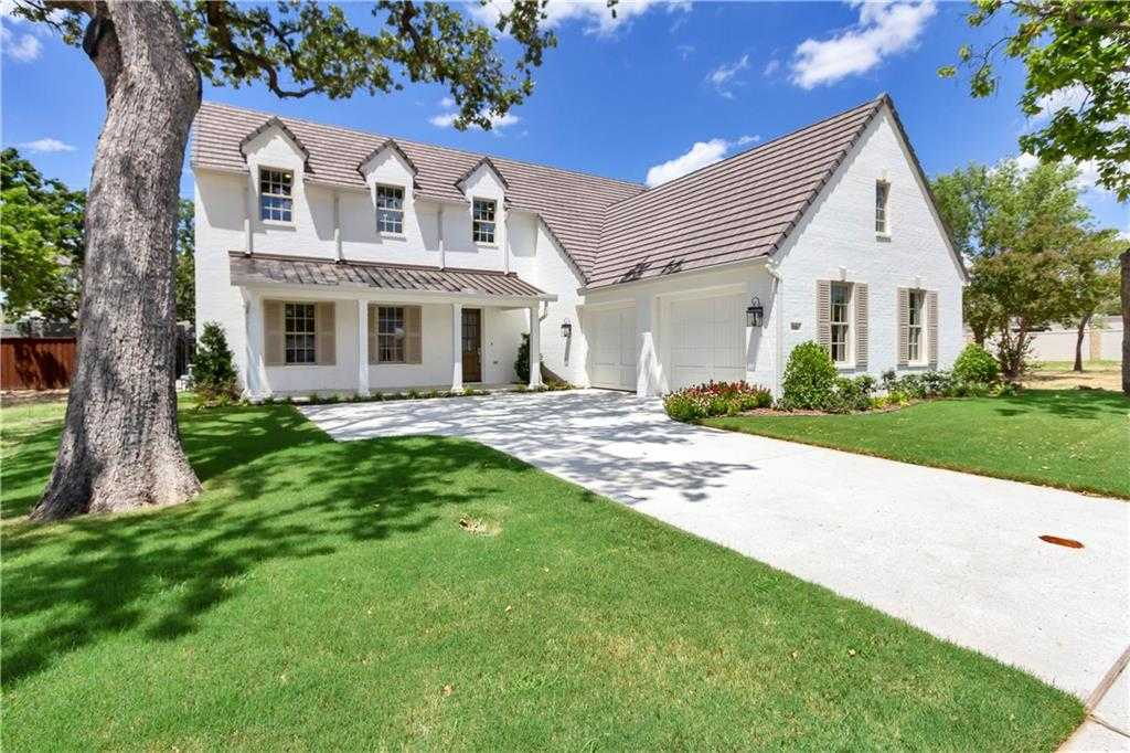 $799,437 - 4Br/5Ba -  for Sale in Rivercrest Add, Fort Worth