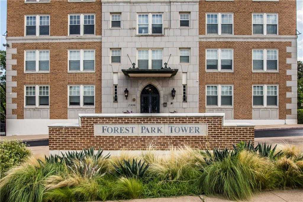 $288,500 - 2Br/1Ba -  for Sale in Forest Park Tower Condo, Fort Worth