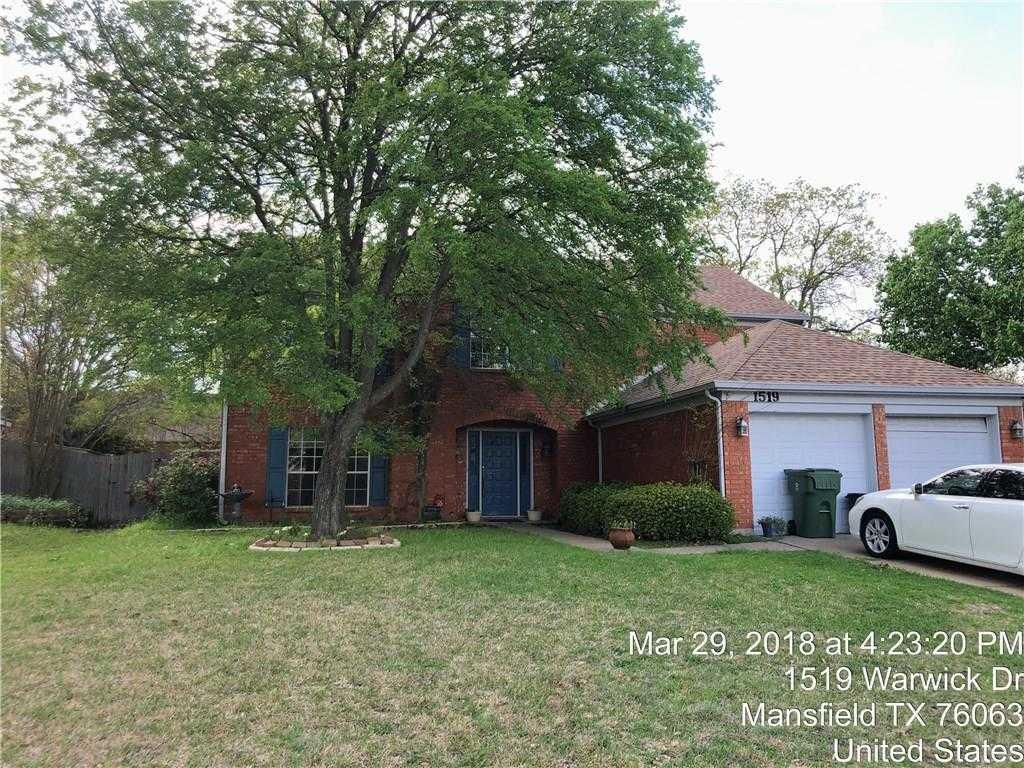 $234,900 - 4Br/3Ba -  for Sale in Walnut Creek Valley Add, Mansfield