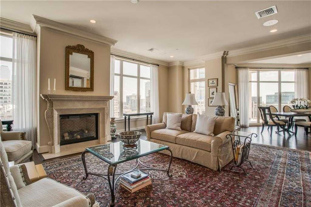 $2,115,000 - 2Br/3Ba -  for Sale in Tower & Regency Row Residence Condo, Dallas