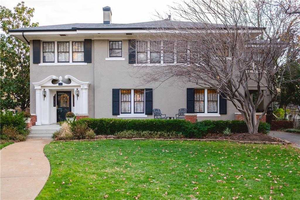 $849,000 - 4Br/3Ba -  for Sale in Heritage Hills-classens W Highland Park, Oklahoma City