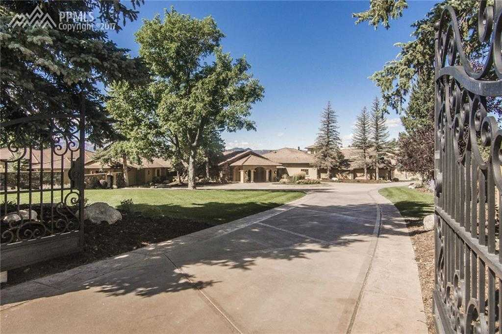 $7,700,000 - 6Br/8Ba -  for Sale in Colorado Springs