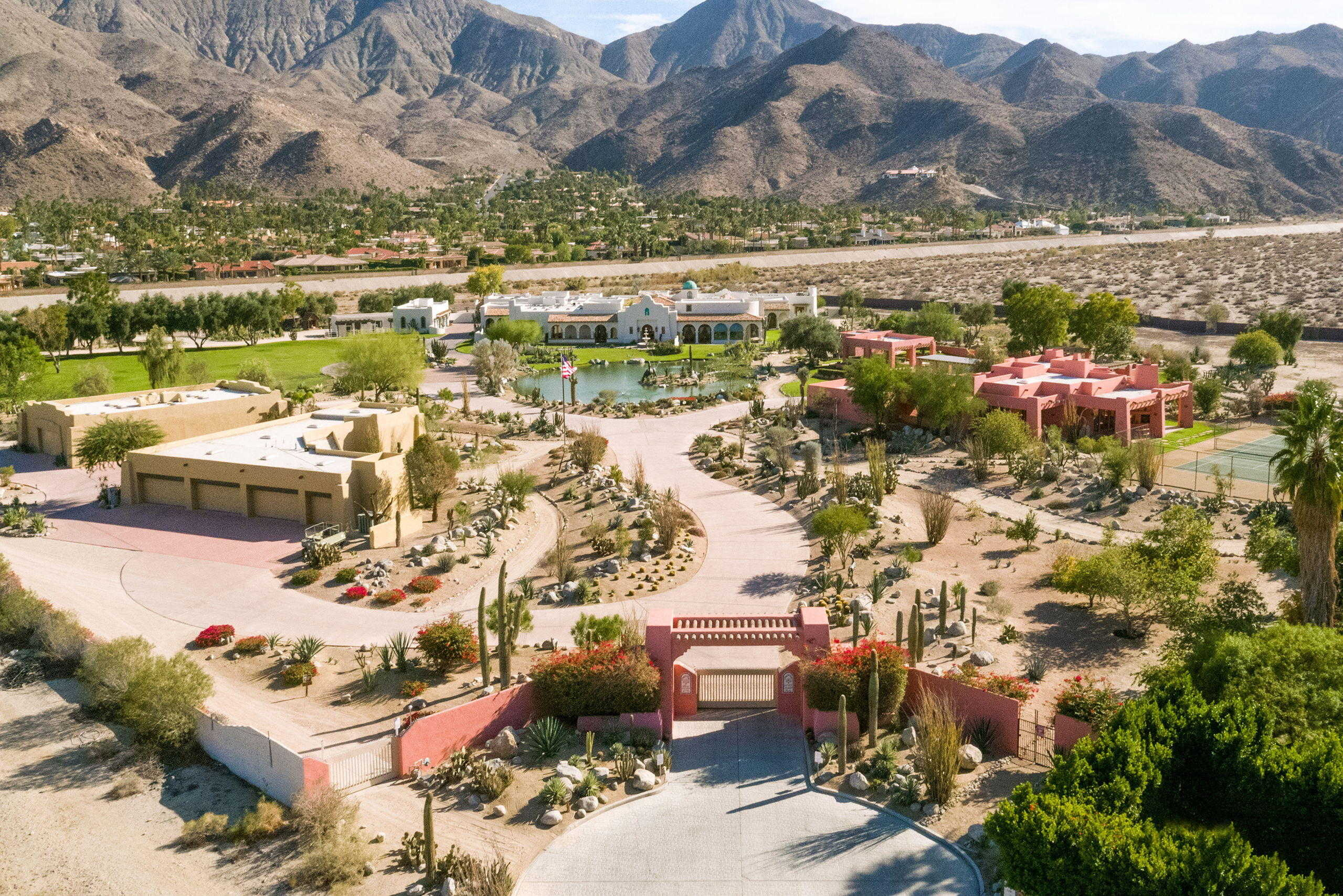 $9,200,000 - 10Br/15Ba -  for Sale in Andreas Hills, Palm Springs