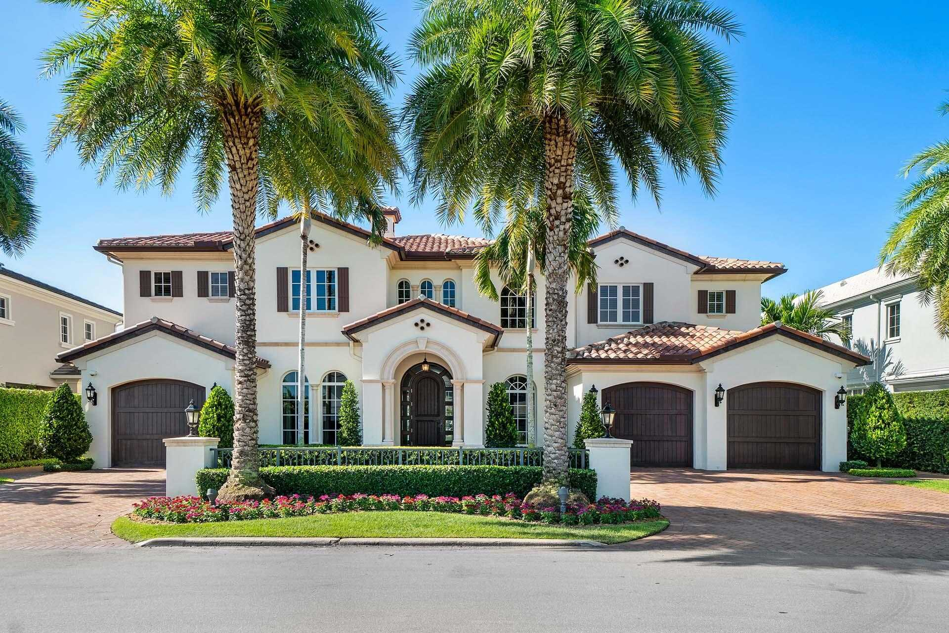 $11,500,000 - 5Br/8Ba -  for Sale in Royal Palm Yacht & Country Club, Boca Raton