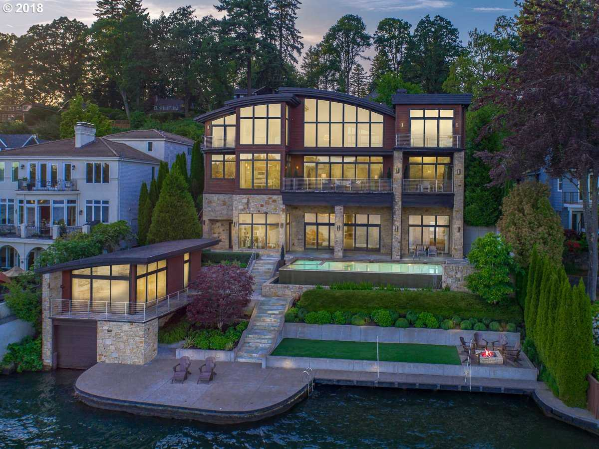 $6,988,000 - 5Br/6Ba -  for Sale in Main Lake, Lake Oswego