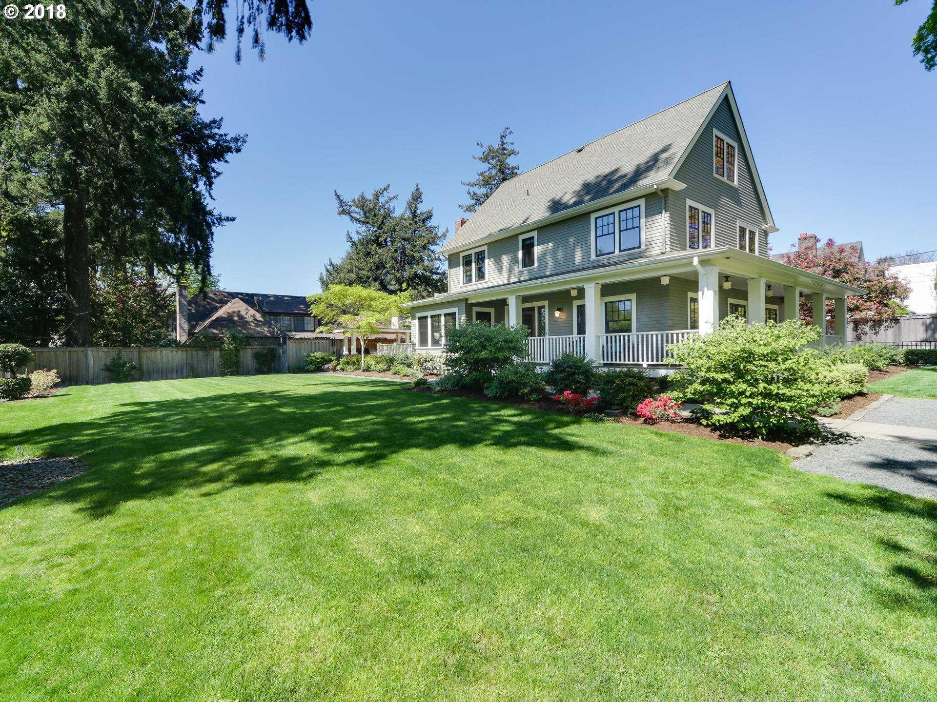 $1,795,000 - 4Br/4Ba -  for Sale in Eastmoreland, Portland