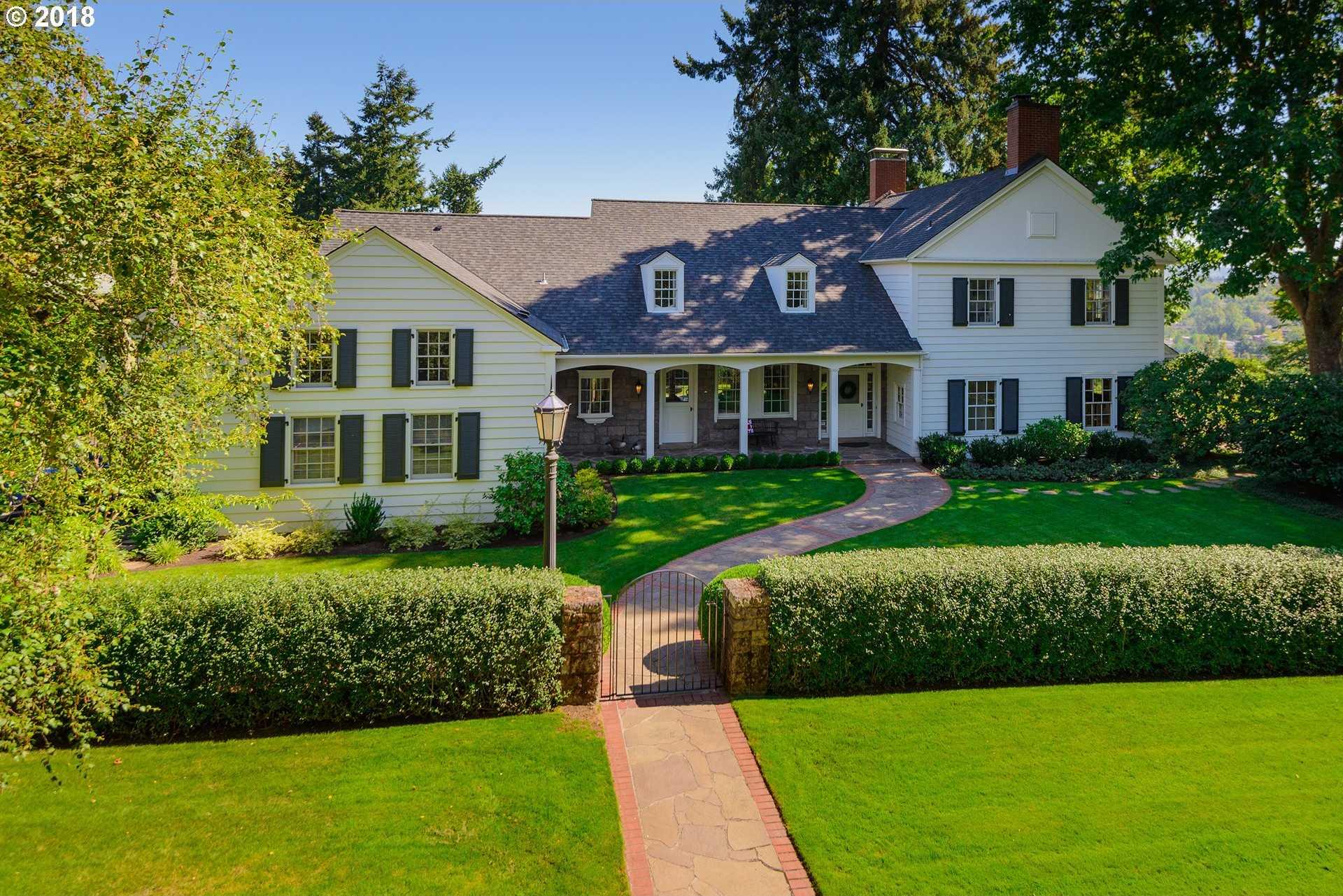 $2,679,000 - 4Br/5Ba -  for Sale in Dunthorpe Riverdale, Portland
