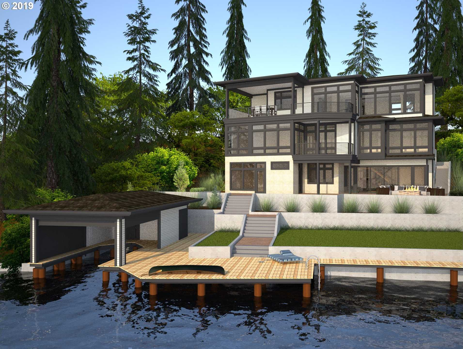 $3,988,000 - 4Br/5Ba -  for Sale in Main Lake, Lake Oswego