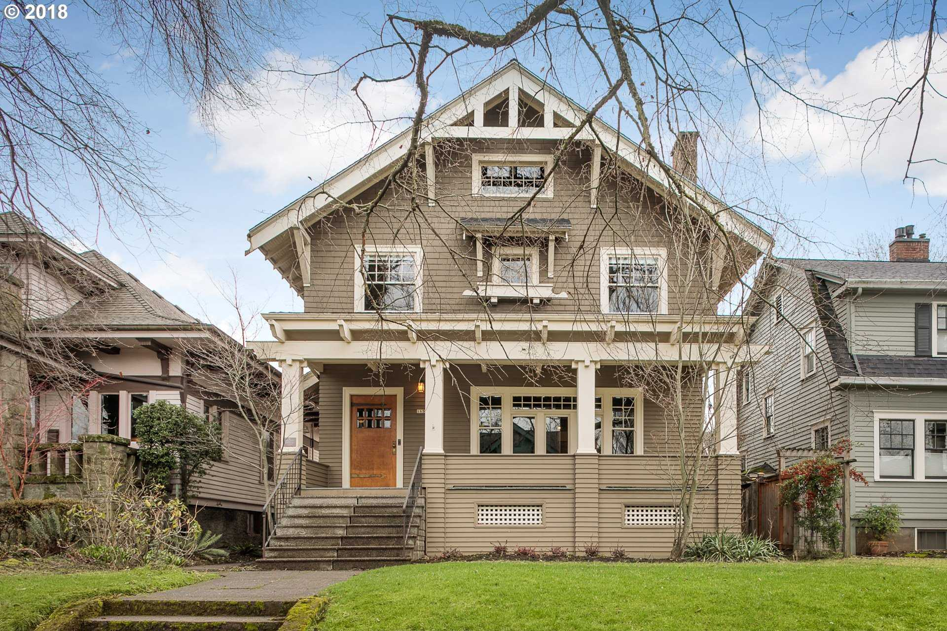 $975,000 - 4Br/3Ba -  for Sale in Ladd's Addition, Portland
