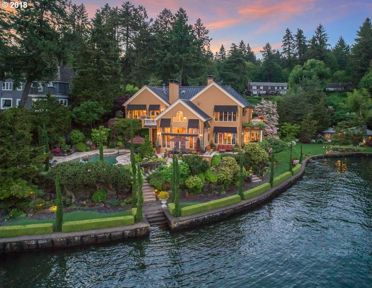 $8,500,000 - 4Br/6Ba -  for Sale in Main Lake, Lake Oswego