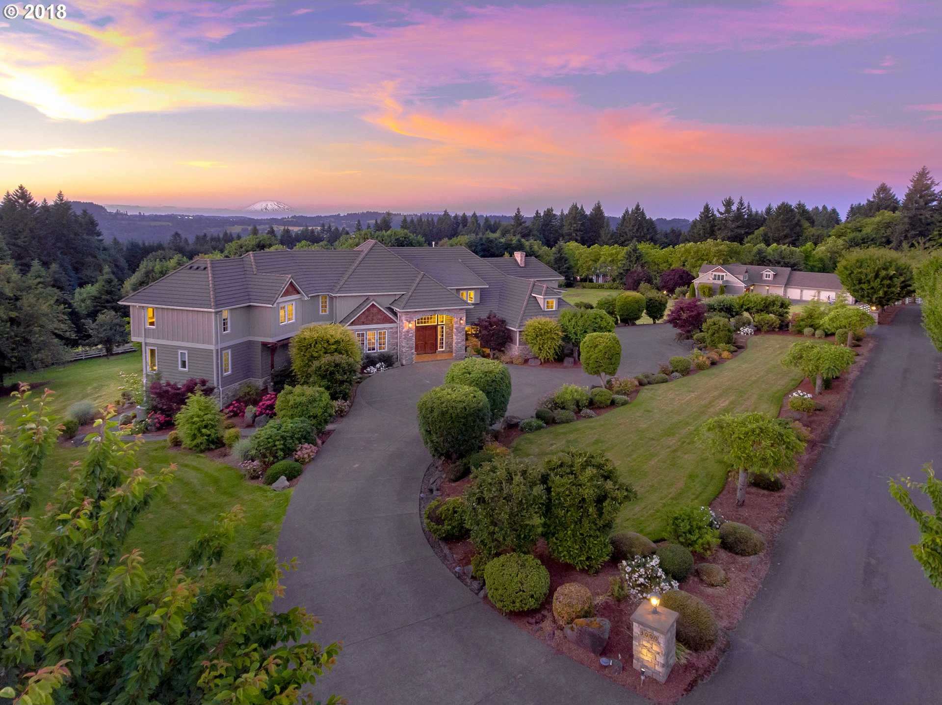 $2,995,000 - 6Br/8Ba -  for Sale in Stafford, West Linn